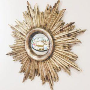 specchio convesso artigianale fatto a mano castorina firenze