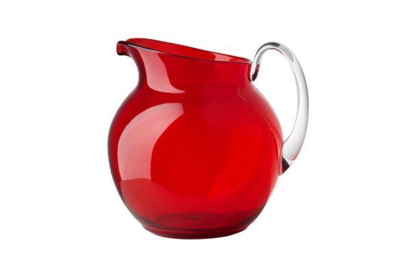 brocca palla rossa bianco