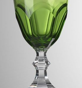 mario luca giusti set dolce vita bicchieri verde