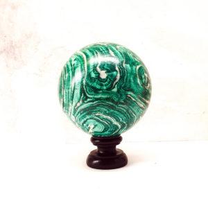 sfera-decor-artigianale-legno-dipinto-castorina-a-mano