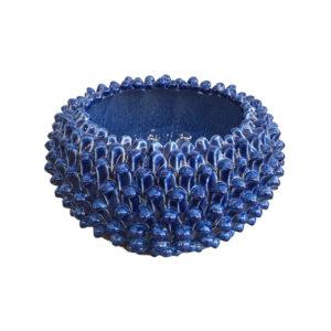 nd-dolfi-vaso-centrotavola-basso-interno-ceramica-toscana-blu-pigna-grande-artempo-empoli