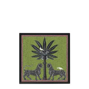 Ortigia-Vassoio-laccato-verde