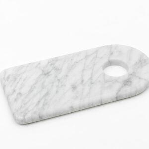 tagliere marmo con foro FiammettaV