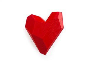 Heart_RED_brooch